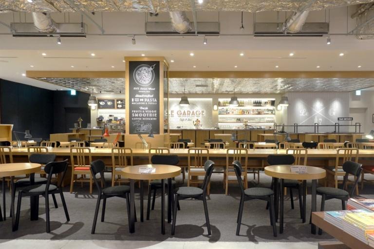 Restaurant Le Garage : Le garage(umeda tsutaya books) karimoku new standard english